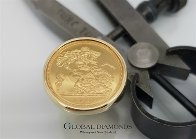 Half Sovereign Ring