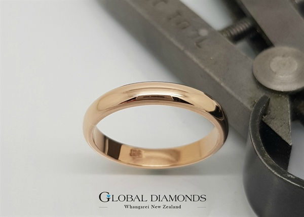 9ct Rose Gold Ring